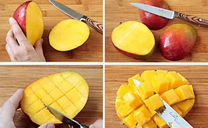mango cutting styles