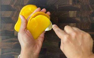 mango cutting ideas,