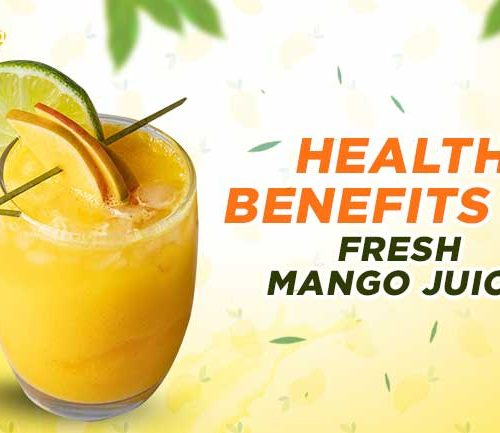 Fresh Mango Juice: Know the Health Benefits of Consuming It